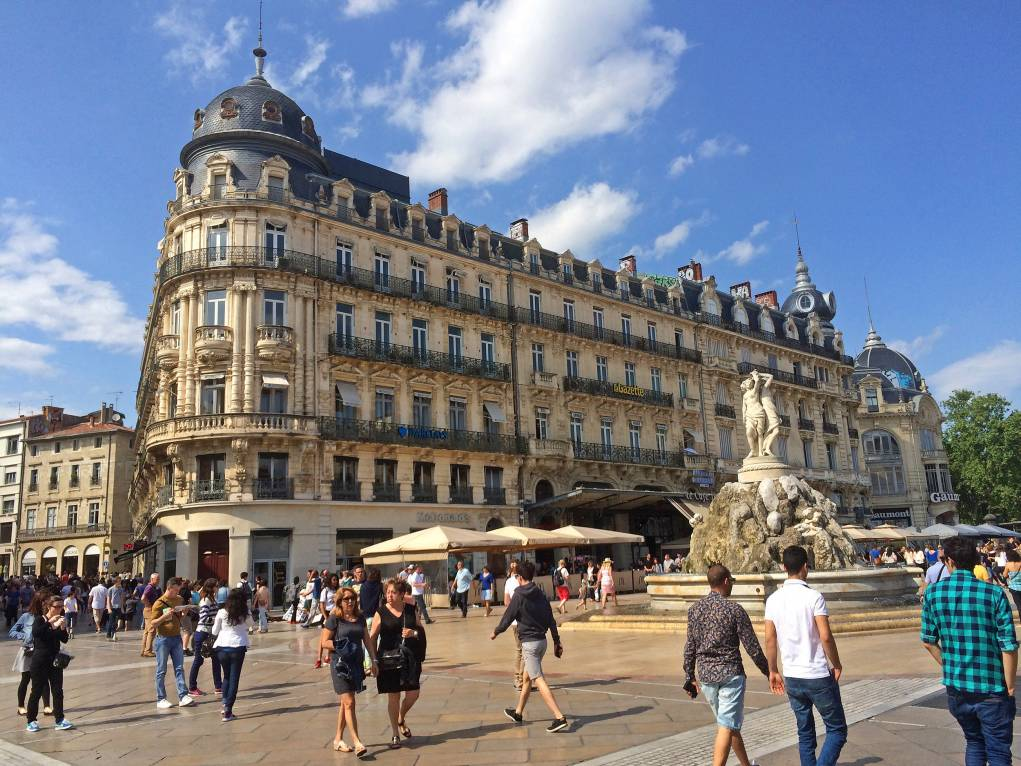Montpellier aux portes de la méditerranée avec Adispos