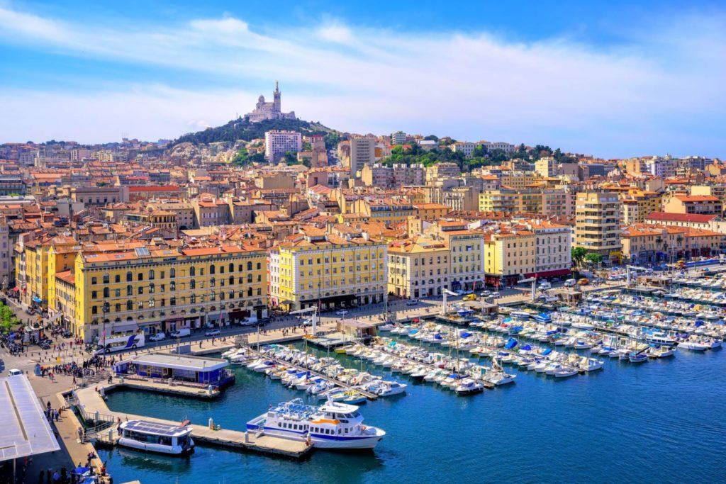 Marseille, la cité phocéenne avec la plateforme du VTC Adipsos