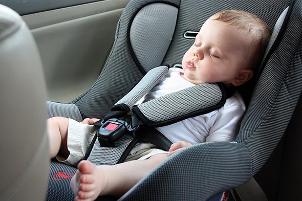 VTC Toulouse avec siège auto pour bébé